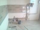 Укладка плитки на рабочую стенку кухни